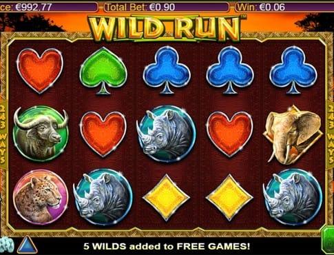 Символы онлайн игры Wild Run